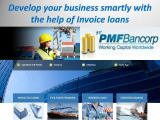 Develop your business smartly with the help of Invoice loans.pdf