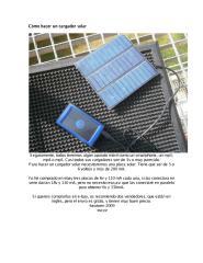 Cómo hacer un cargador solar.pdf