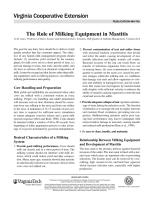 role of milking machine equioment in mastitis.pdf