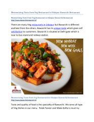 Mesmerizing-Taste-from-Veg-Restaurant-in-Udaipur-Bawarchi-Restaurant.pdf