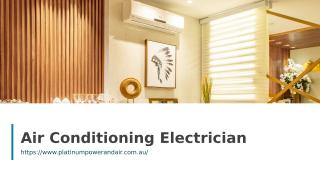 Air Conditioning Electrician.ppt
