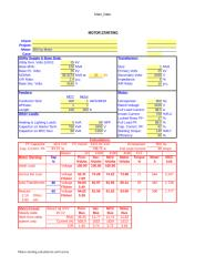 Motor starting calculation.xls