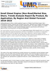 Small Diesel Engine (Non-Road)Market Size, Share, Trends Analysis Report By Product, By Application, By Region And Global Forecast 2018-2023.pdf