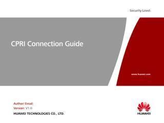 H. CPRI Connection Guide.pdf