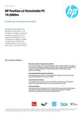manual Mini Lapto Hp Pavilon X2 detachable pc10.pdf