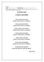 A Casa e seu dono - poesia.doc