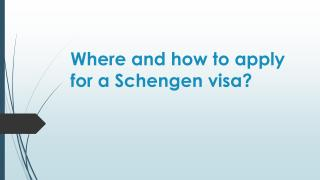 Where and how to apply for a Schengen.pdf