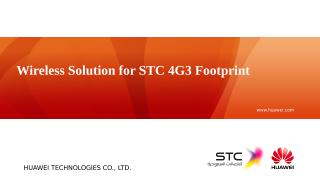 H. Wireless Solution for STC 4G3 Footprint.pptx