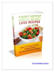 SIMPLE WEIGHT LOSS RECIPES.pdf