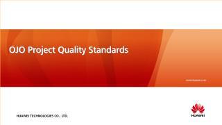 H. OJO Project Quality standars.pdf