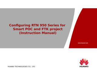 Configuring RTN 950 Series.ppt