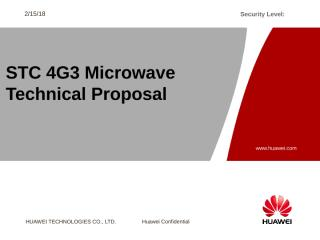H. STC 4G3 Microwave Technical Proposal.pptx