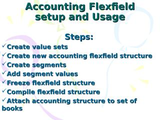 Overview of Flexfield.ppt